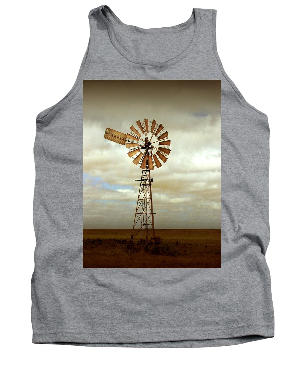 Windmill Tank Top featuring the photograph Catch The Wind by Holly Kempe