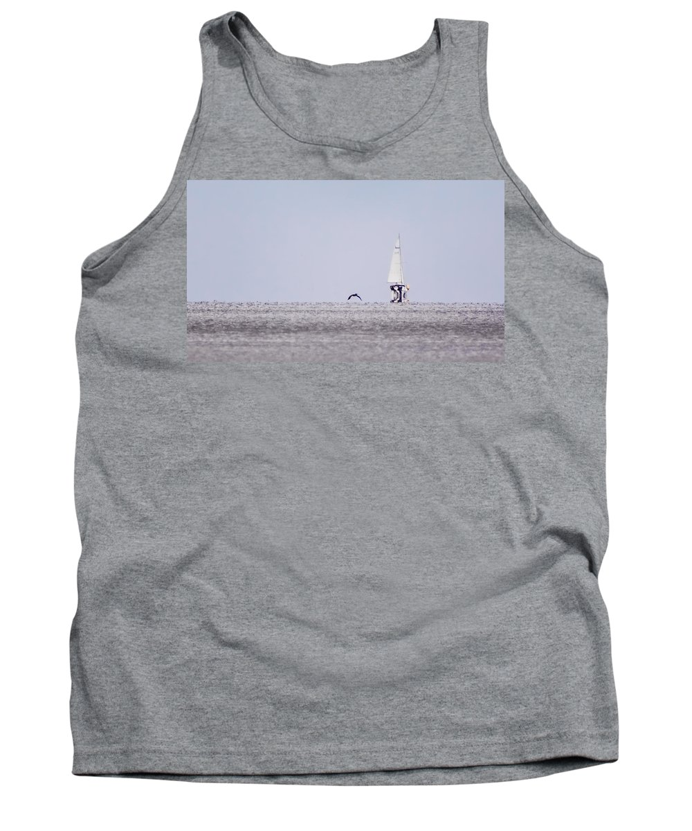 Wind Tank Top featuring the photograph Catching Wind by Paula OMalley