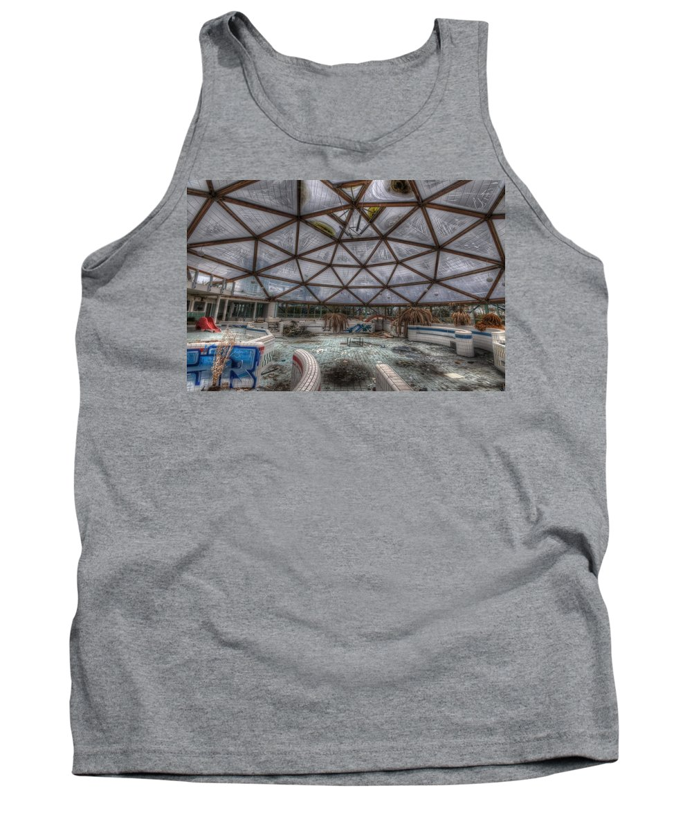 Health Tank Top featuring the digital art Central Health by Nathan Wright