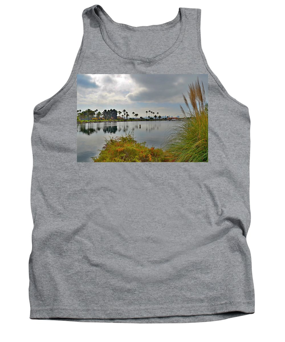 Channel View Tank Top featuring the photograph Channel View by See My Photos