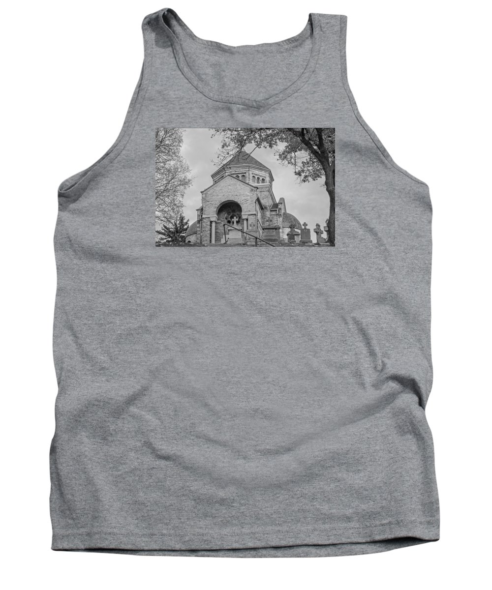 Chapel On The Hill Tank Top featuring the photograph Chapel On The Hill  by Susan McMenamin