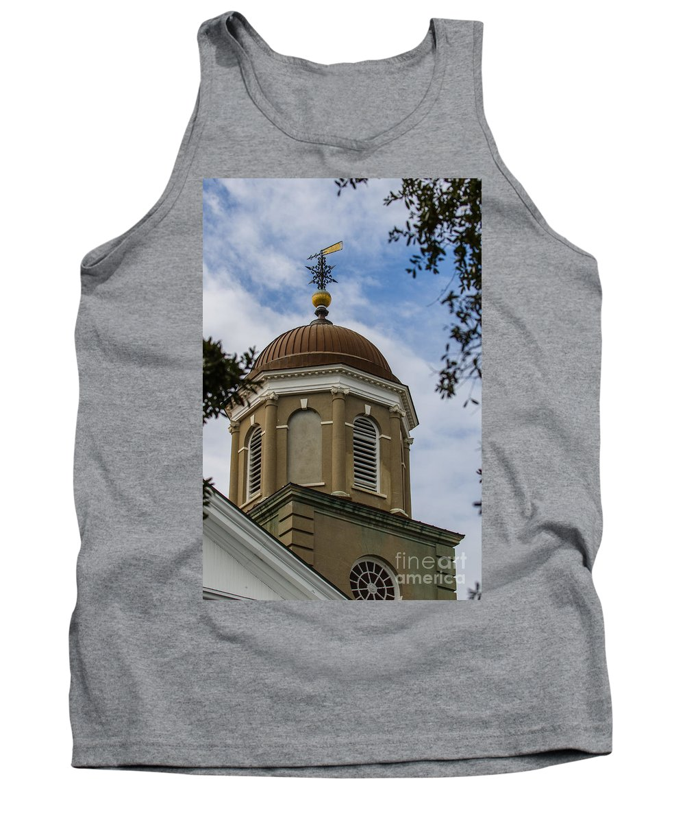 Charleston Tank Top featuring the photograph Charleston Round Dome by Dale Powell