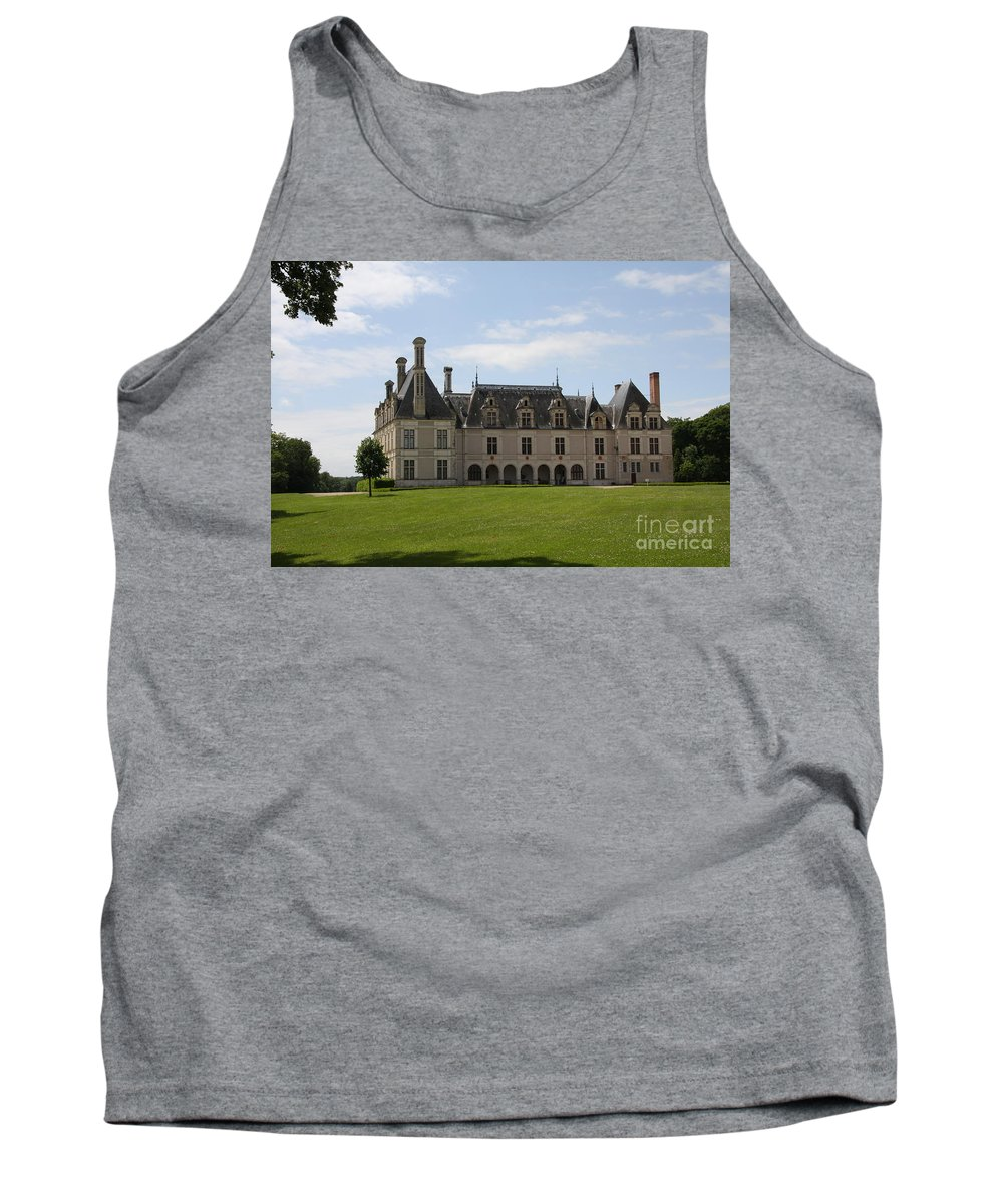 Palace Tank Top featuring the photograph Chateau Beauregard Loire Valley by Christiane Schulze Art And Photography