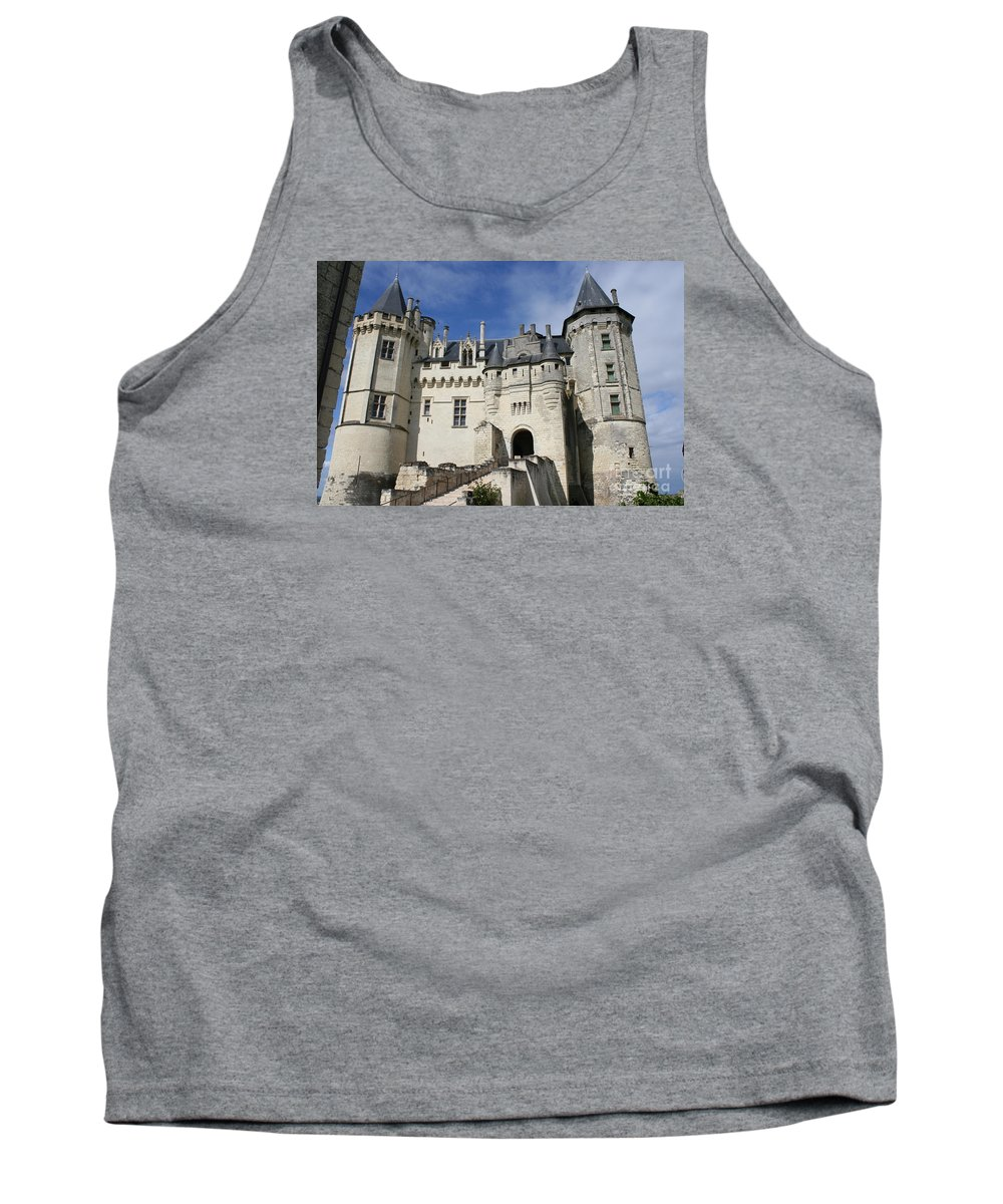 Castle Tank Top featuring the photograph Chateau Saumur by Christiane Schulze Art And Photography