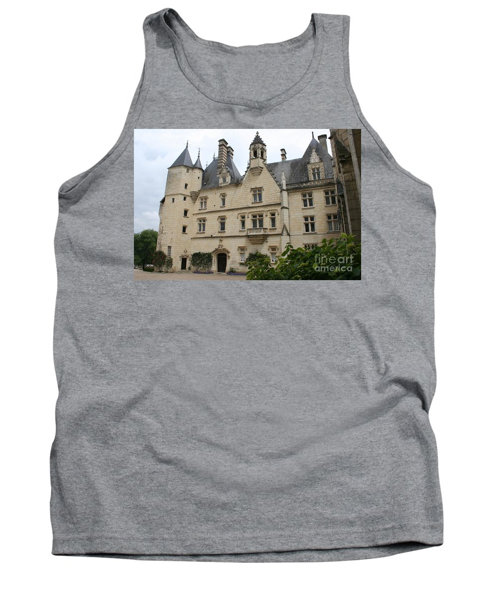 Palace Tank Top featuring the photograph Chateau Usse by Christiane Schulze Art And Photography
