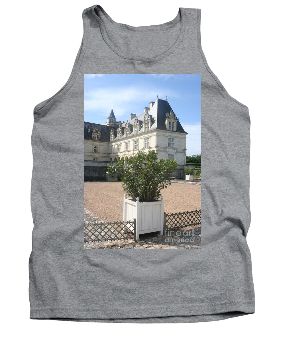 Palace Tank Top featuring the photograph Chateau Villandry View by Christiane Schulze Art And Photography