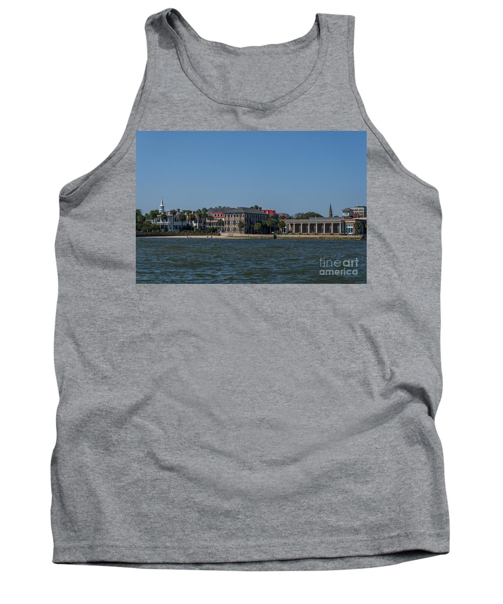 Historic Tank Top featuring the photograph Chucktown by Dale Powell