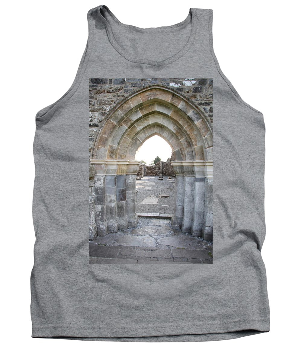 Church Tank Top featuring the photograph Church Portal by Christiane Schulze Art And Photography