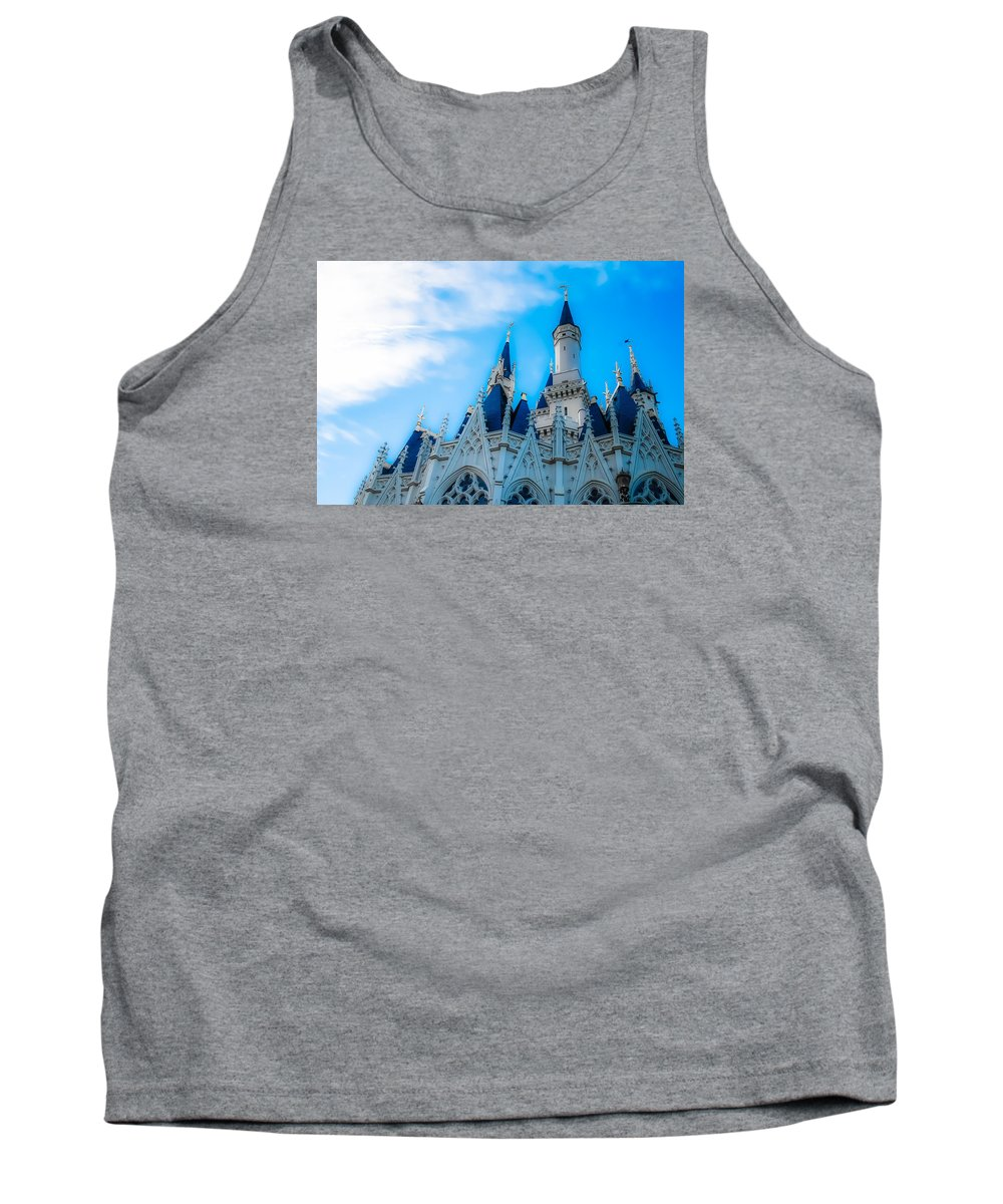 Cinderella Tank Top featuring the photograph Cinderella Castle by Cynthia Fauci