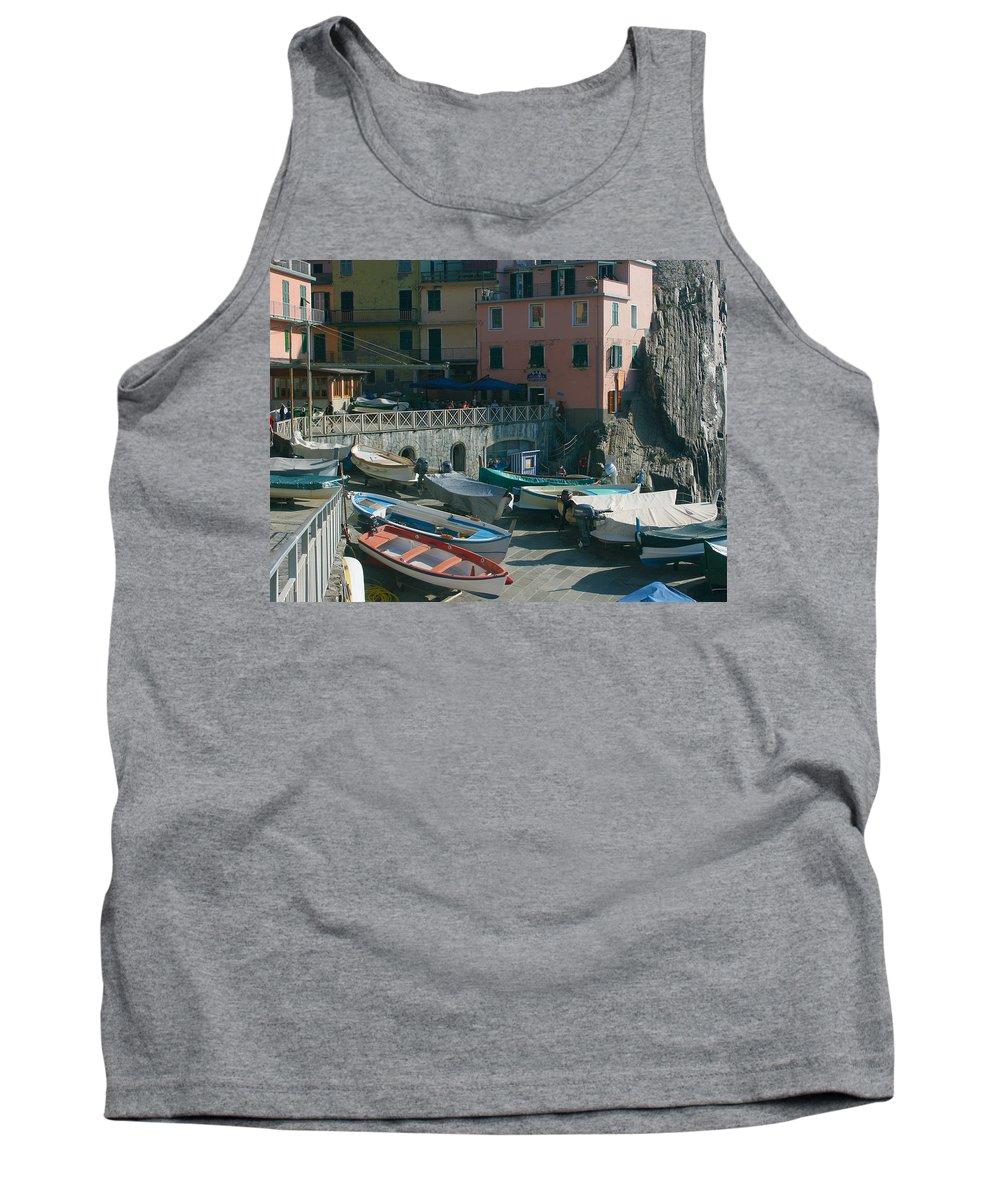 Karen Zuk Rosenblatt Tank Top featuring the photograph Cinque Terre 3 by Karen Zuk Rosenblatt