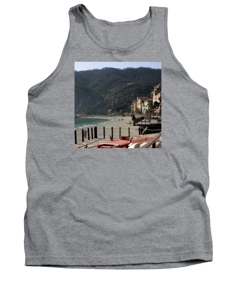 Karen Zuk Rosenblatt Tank Top featuring the photograph Cinque Terre 8 by Karen Zuk Rosenblatt