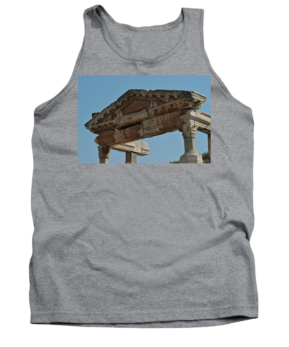 Ancient City Tank Top featuring the photograph City Of Wood by Joseph Yarbrough