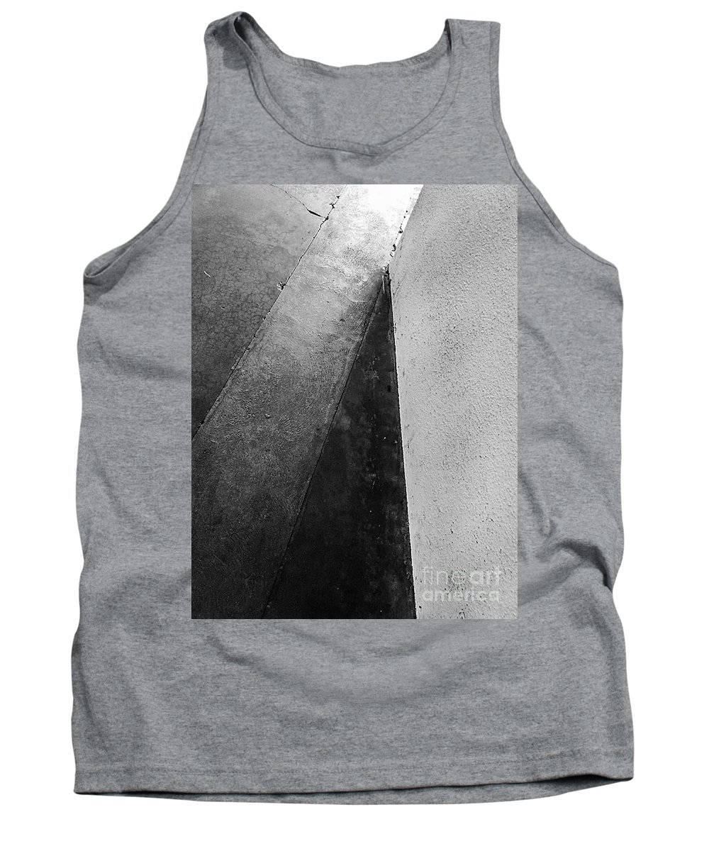 Urban Tank Top featuring the photograph City Under The Pressures Original by Fei A