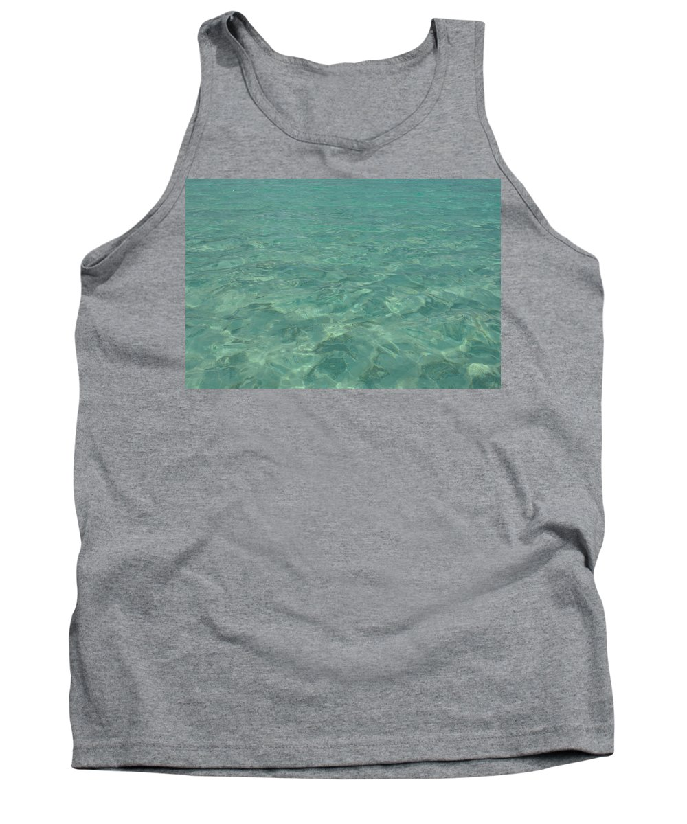 Mark J Dunn Tank Top featuring the photograph Clear Water Of Guam by Mark J Dunn