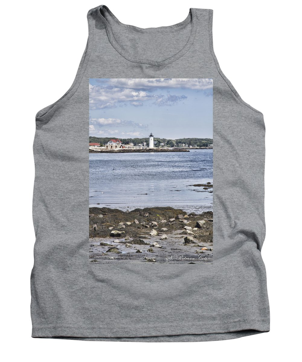 New Castle Tank Top featuring the photograph Classic New England by Natalie Rotman Cote