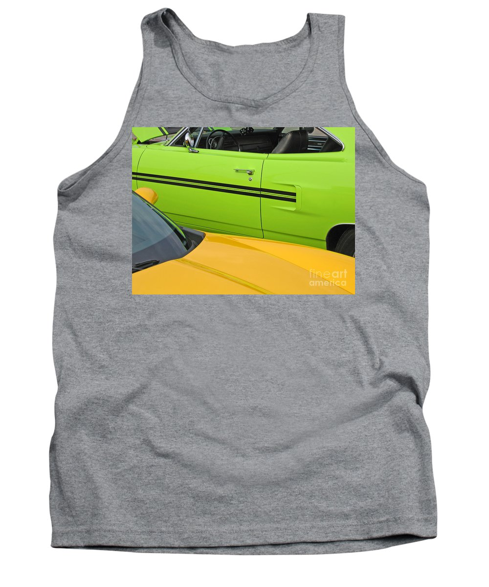 Car Tank Top featuring the photograph Classy Classics by Ann Horn