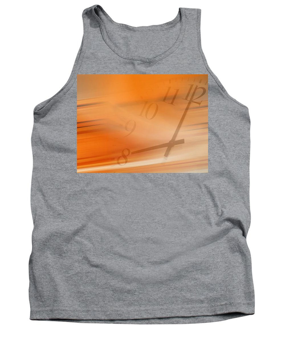 2000 Tank Top featuring the photograph Clock by Tim Antoniuk / Don Hammond