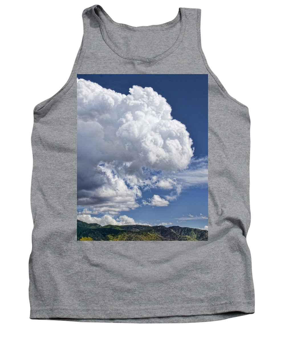 Clouds Tank Top featuring the photograph Cloud Study 114 by Brian King
