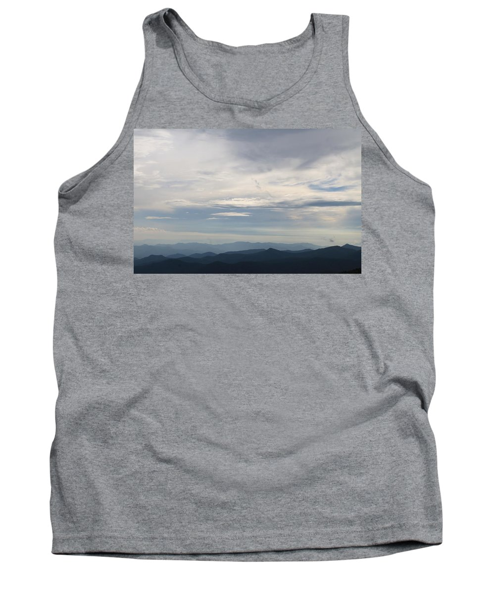 Cloudscape Tank Top featuring the photograph Clouds Over The Appalachians by Mary Koval