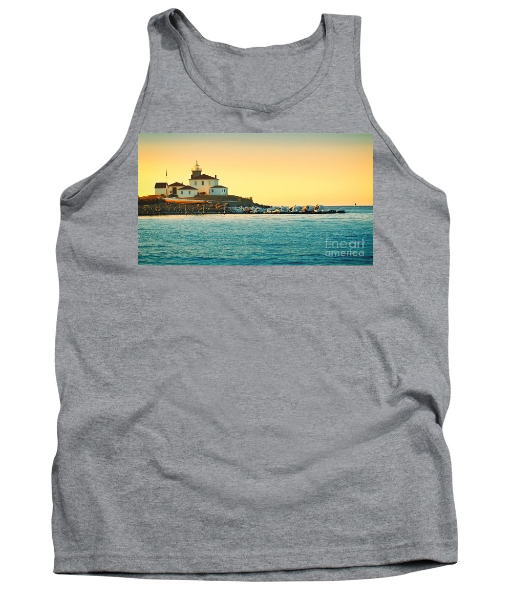 Watch Tank Top featuring the photograph Coastal Cold by Joe Geraci