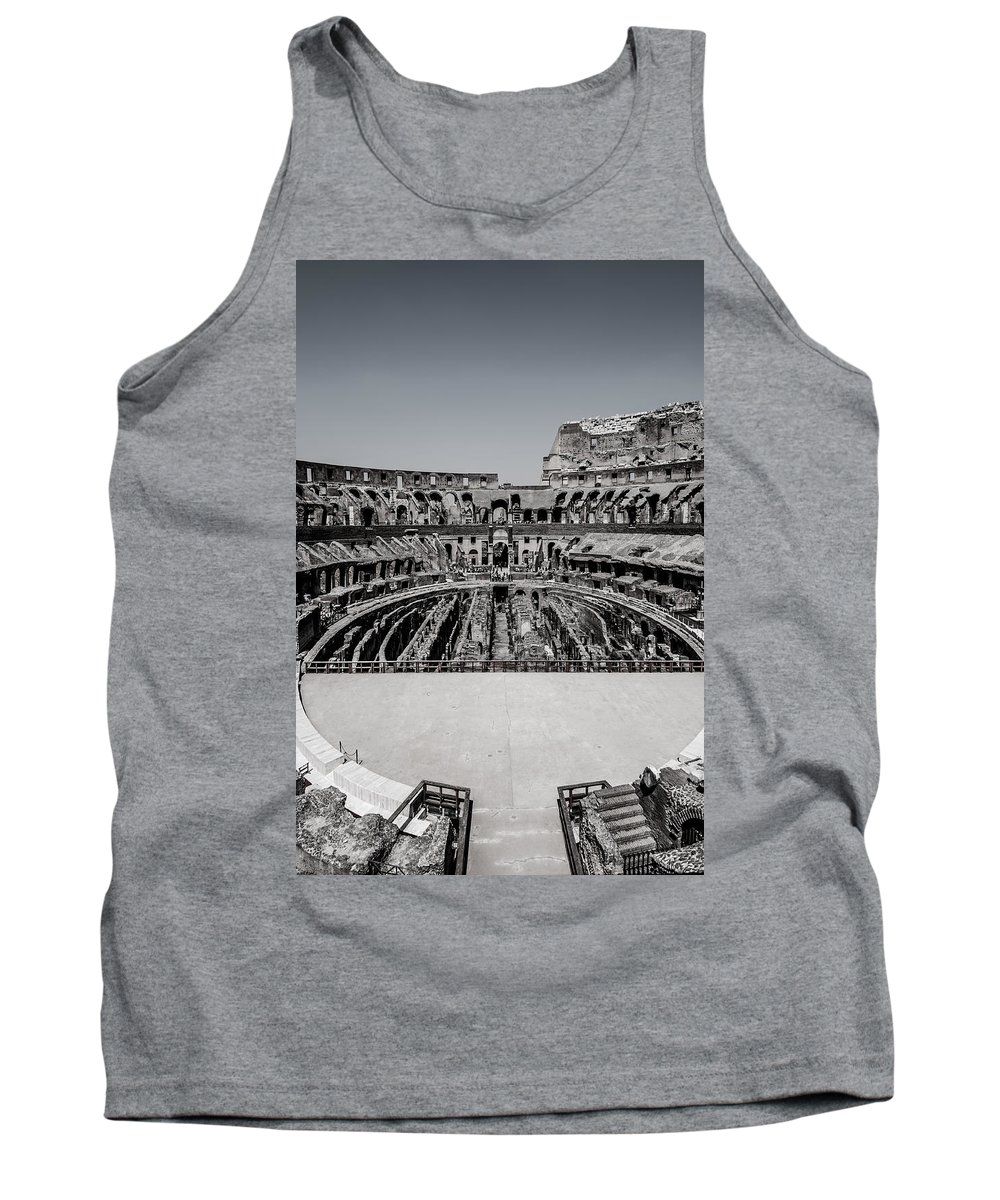 Amphitheater Tank Top featuring the photograph Colosseum by Amel Dizdarevic