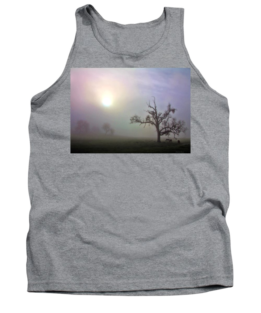Horse Tank Top featuring the photograph Country Bliss by Stephanie Laird