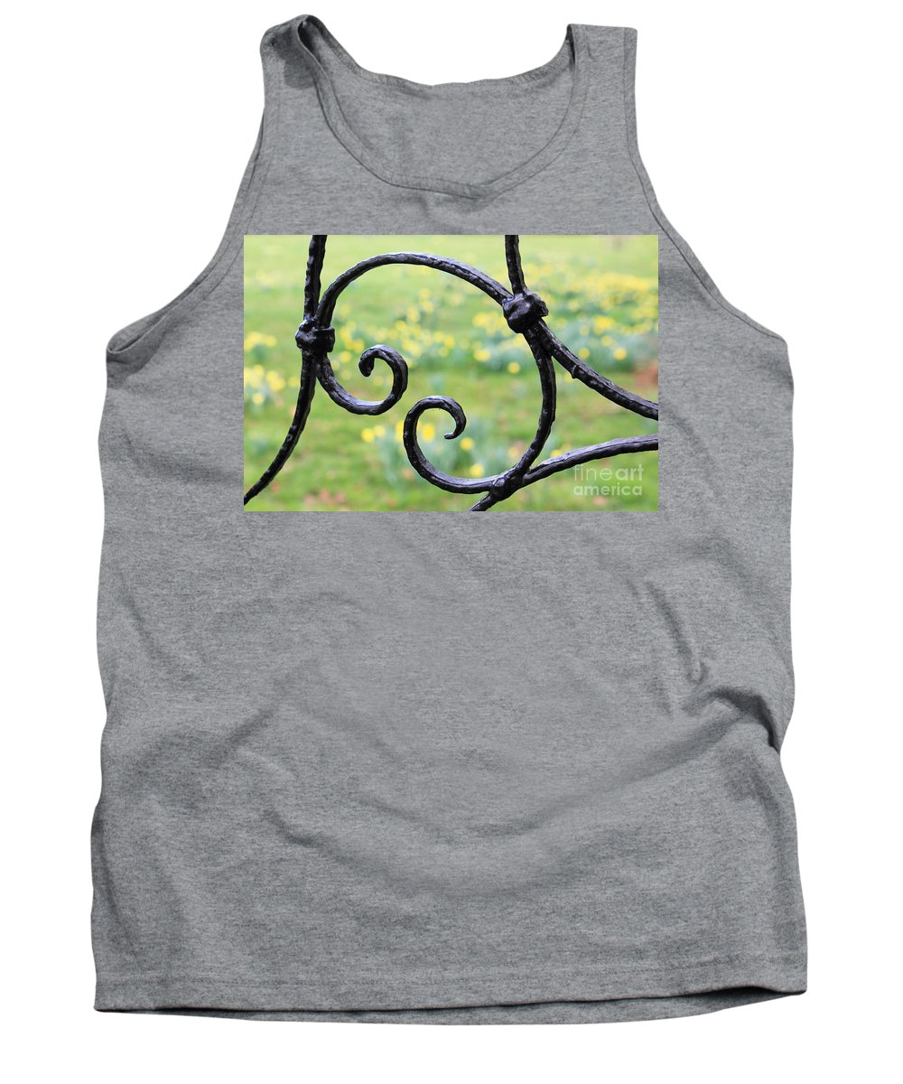 Country Garden Tank Top featuring the photograph Country Garden by Julia Gavin