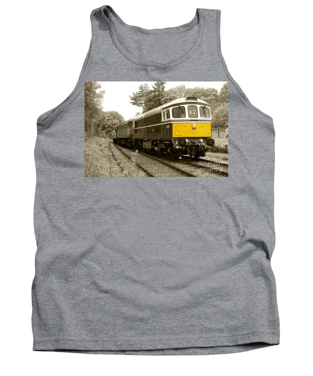 Br Tank Top featuring the photograph Crowcombe Crompton by Rob Hawkins