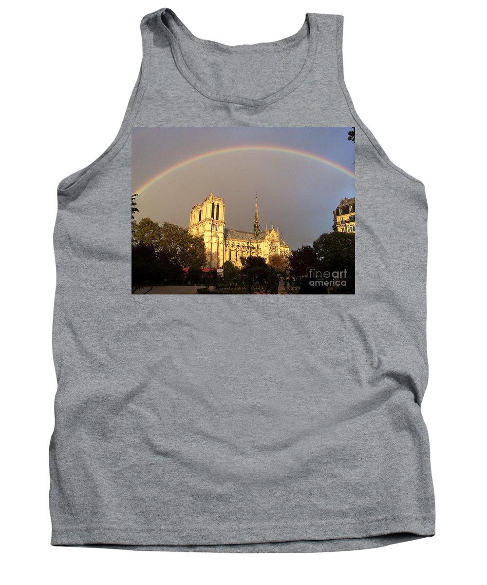 Notre-dame Tank Top featuring the photograph Crowning Glory by Barbara Chase
