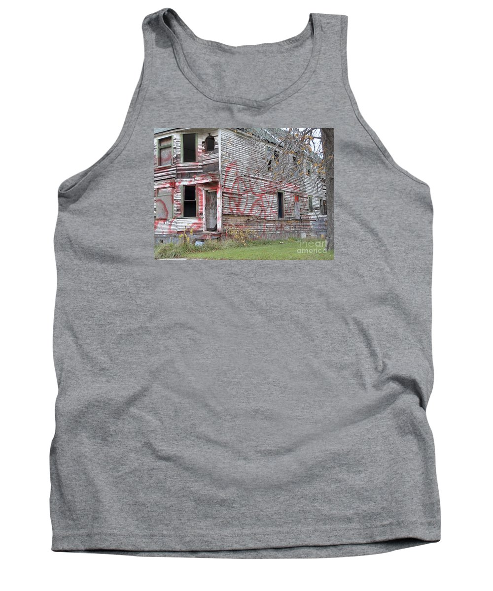 Abandoned Tank Top featuring the photograph Cry For Help by Ann Horn