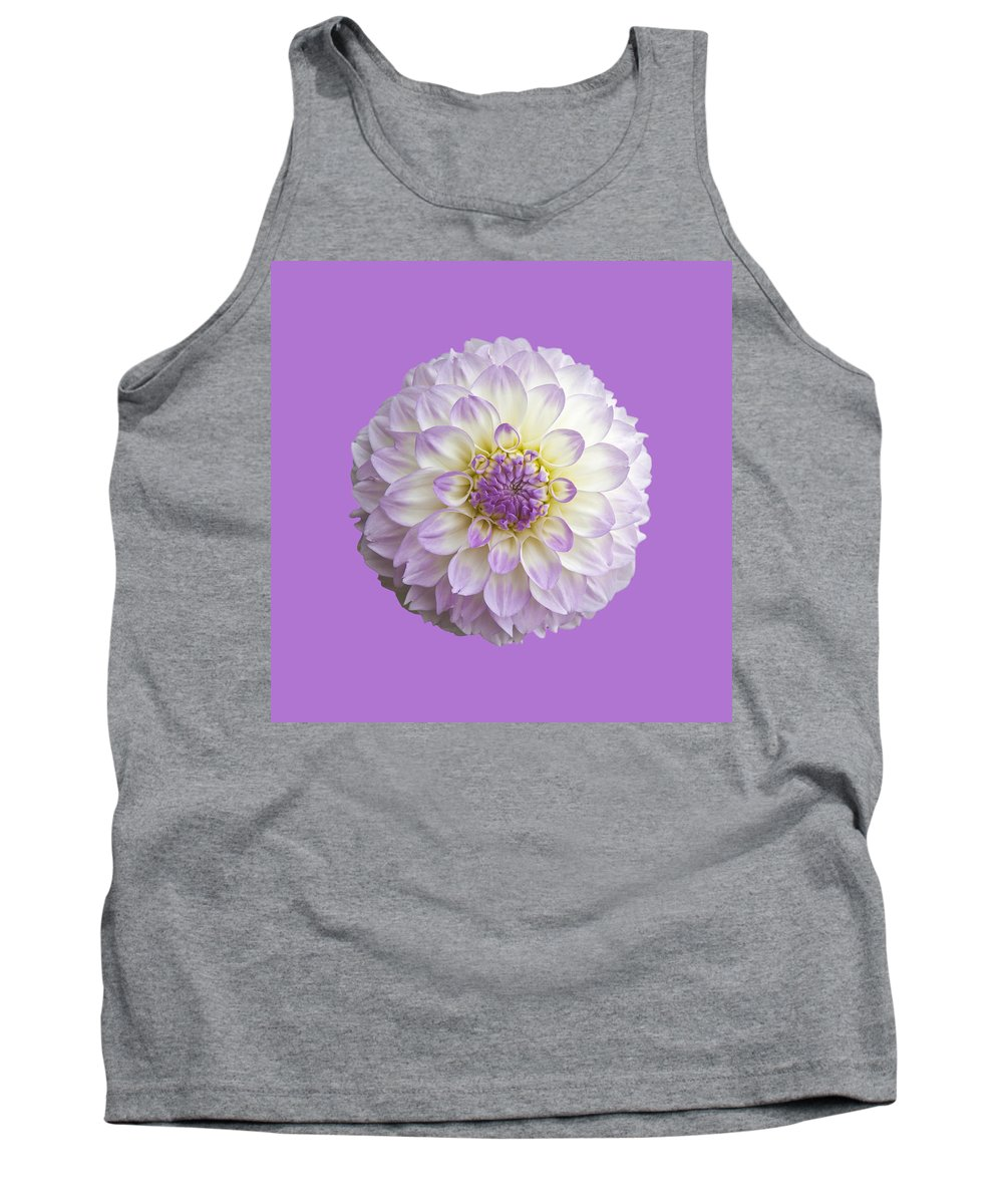 Dahlia Tank Top featuring the photograph Dahlia by Charles Harden