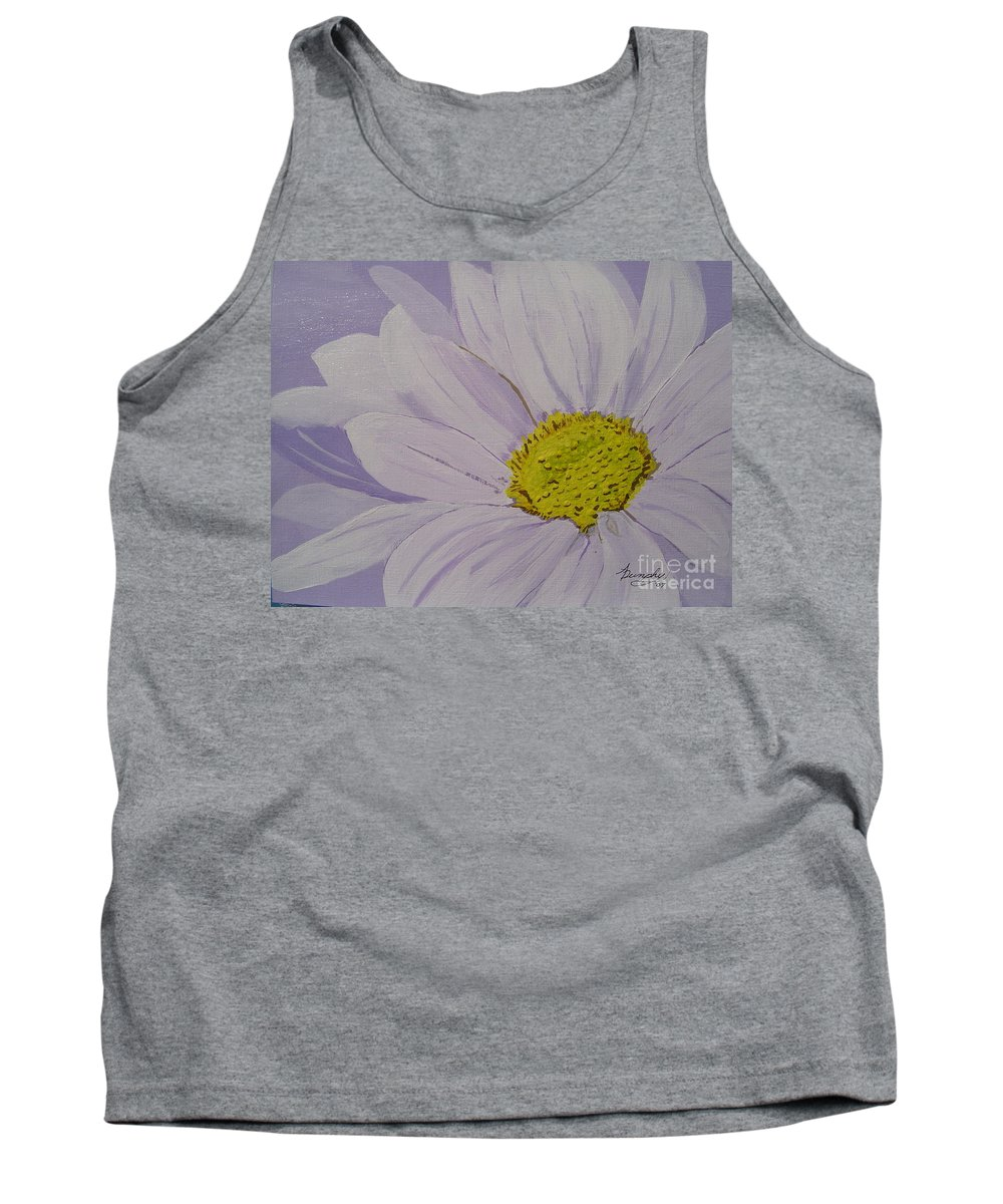 Daisy Tank Top featuring the painting Daisy by Anthony Dunphy