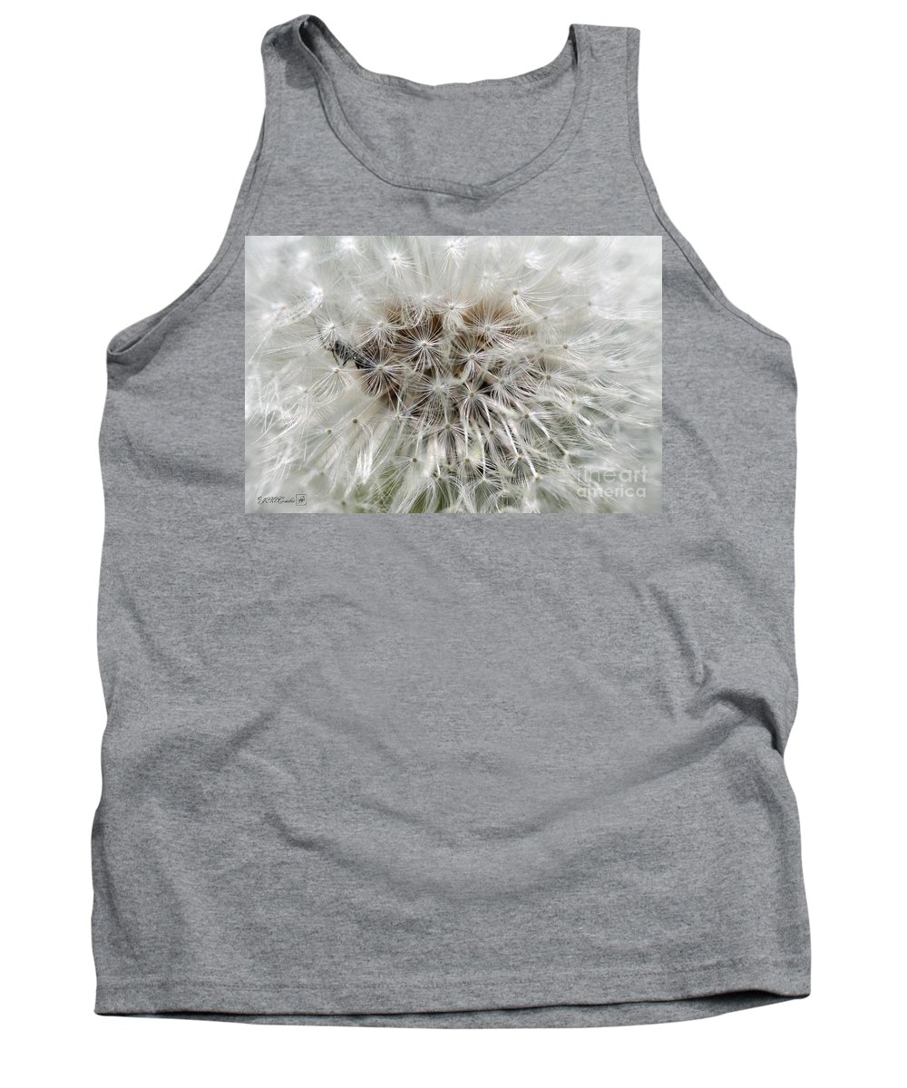 Mccombie Tank Top featuring the photograph Dandelion Ant Trap by J McCombie