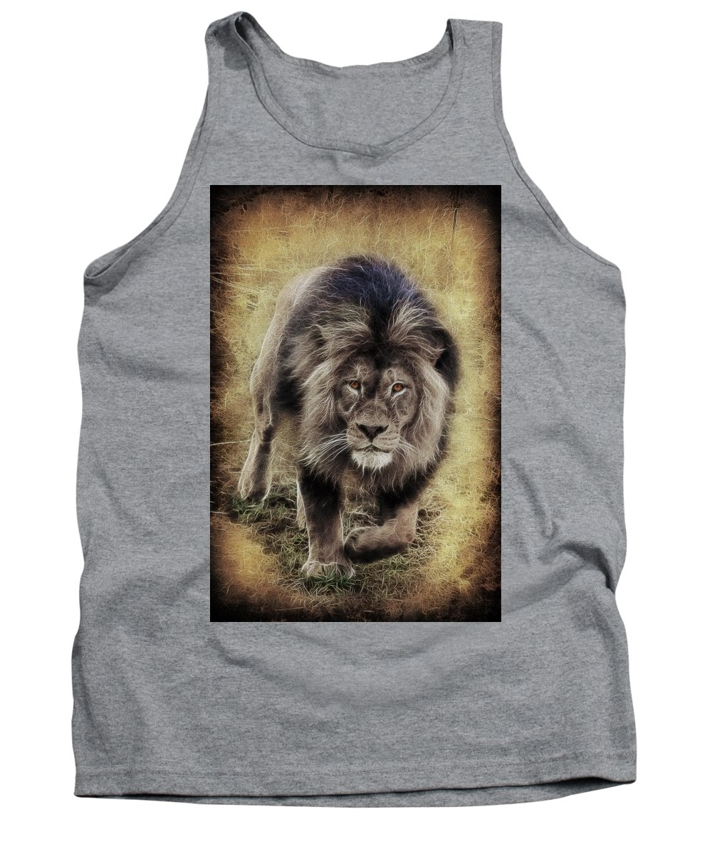 Dangerous Approach Tank Top featuring the photograph Dangerous Approach by Wes and Dotty Weber