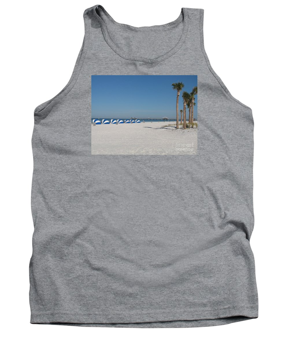 Beach Tank Top featuring the photograph Day On The Beach by Christiane Schulze Art And Photography