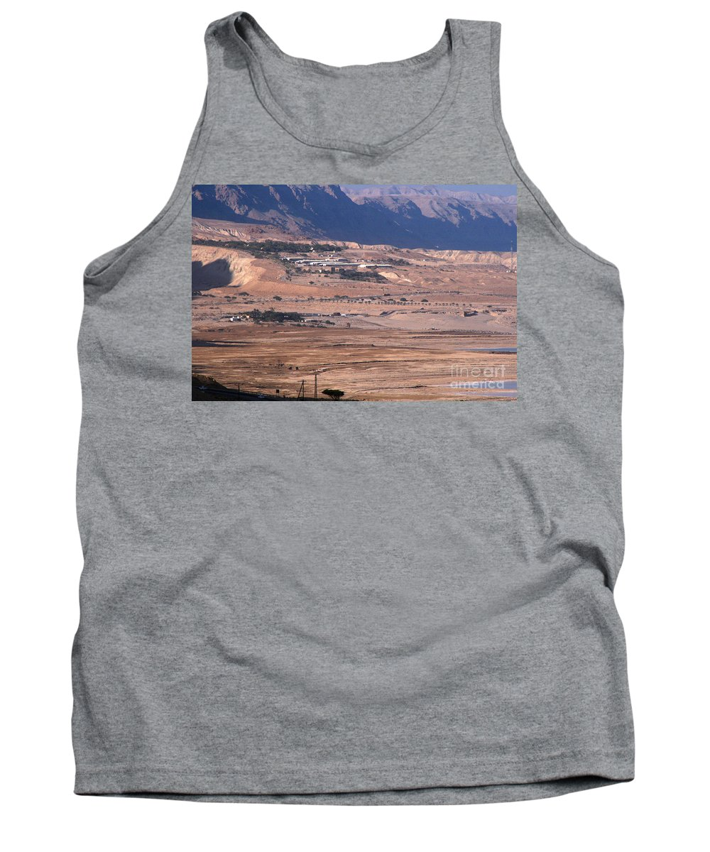 Discount Codes Tank Top featuring the photograph Dead Sea by Doc Braham
