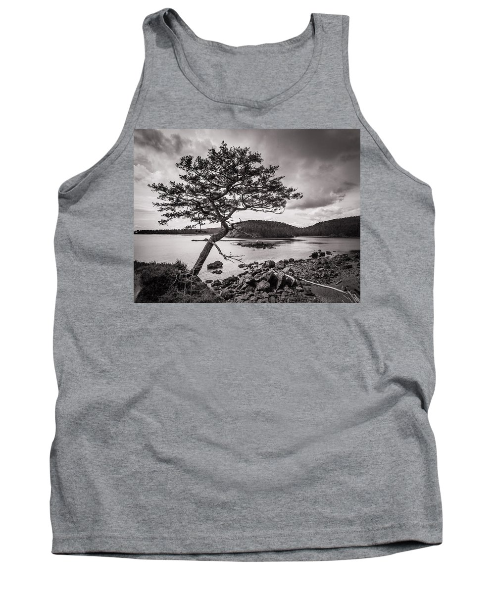 Deception Pass Tank Top featuring the photograph Deception Pass Wa by Mike Penney