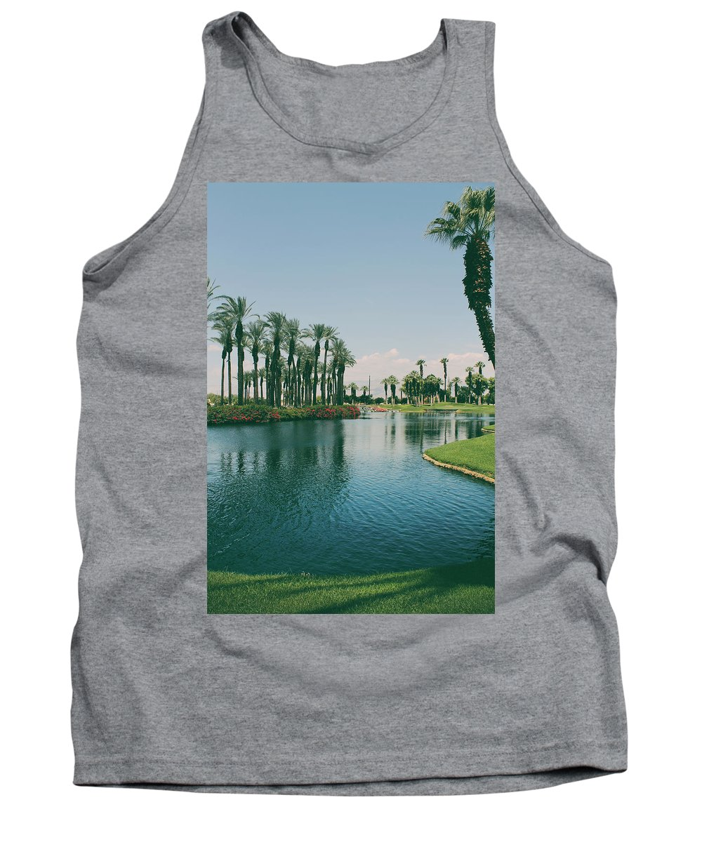Palm Desert Tank Top featuring the photograph Deep Breath And Sigh by Laurie Search