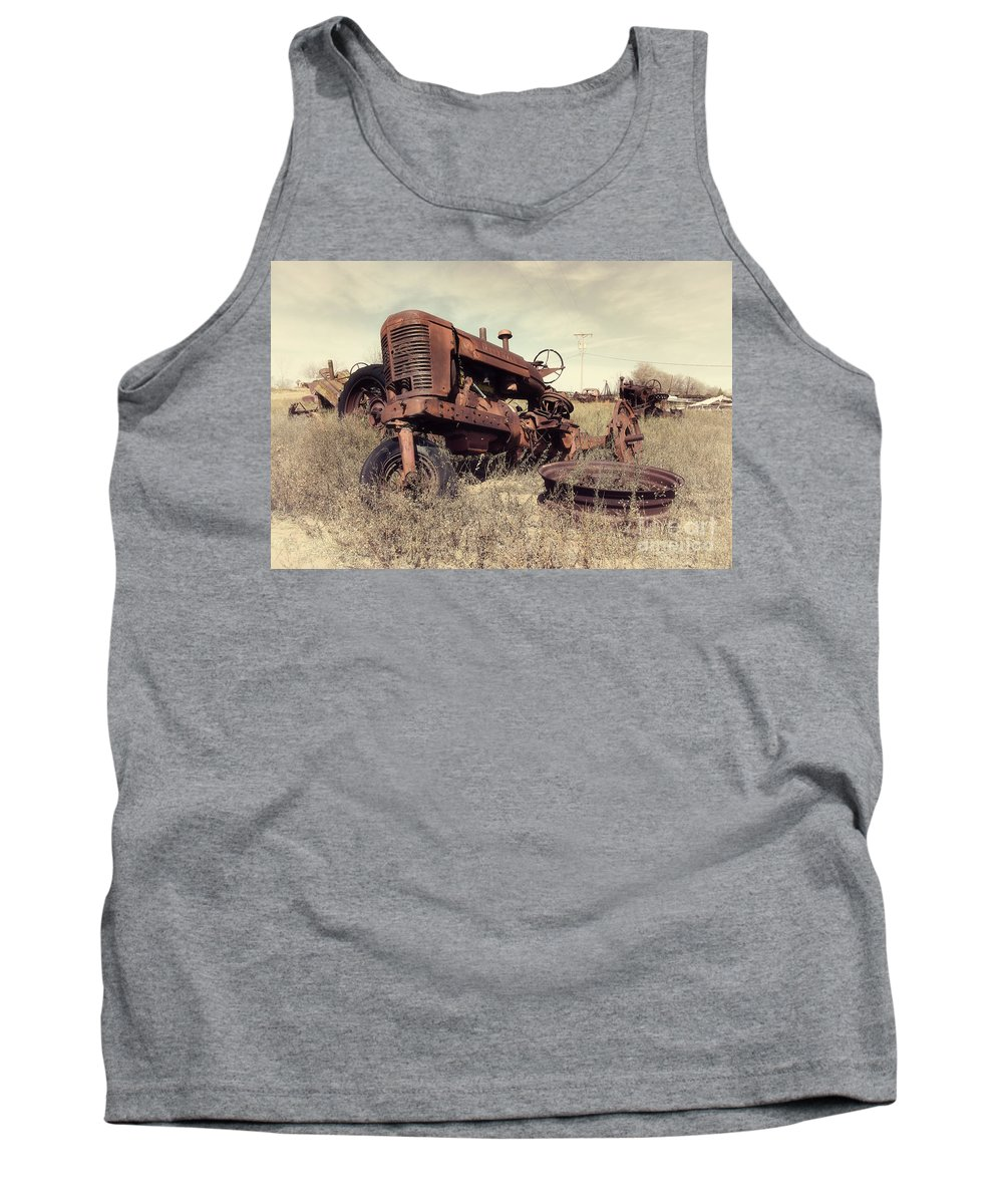 Marshall Tank Top featuring the photograph Derelict Marshall by Rob Hawkins