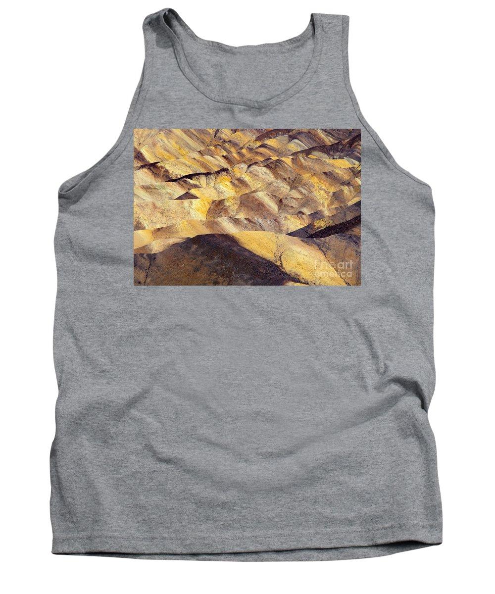 Zabriskie Point Tank Top featuring the photograph Desert Undulations by Mike Dawson