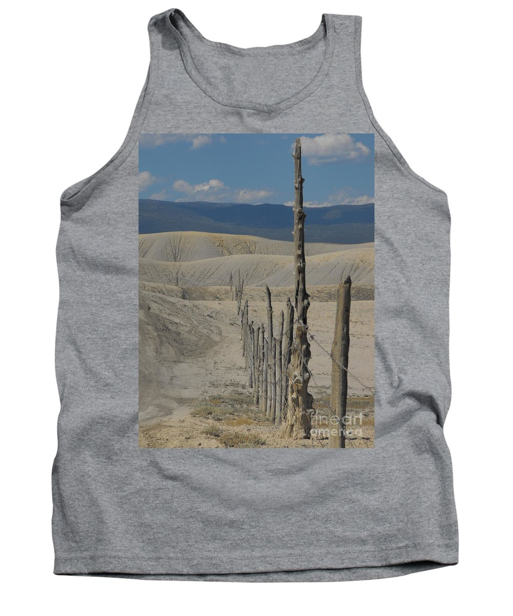 Landscape Tank Top featuring the photograph Dobies by Brandi Maher