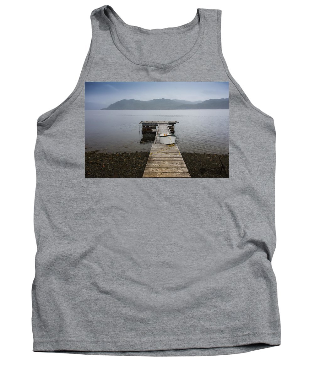 Newfoundland Tank Top featuring the photograph Dock Of The Bay by David Stone