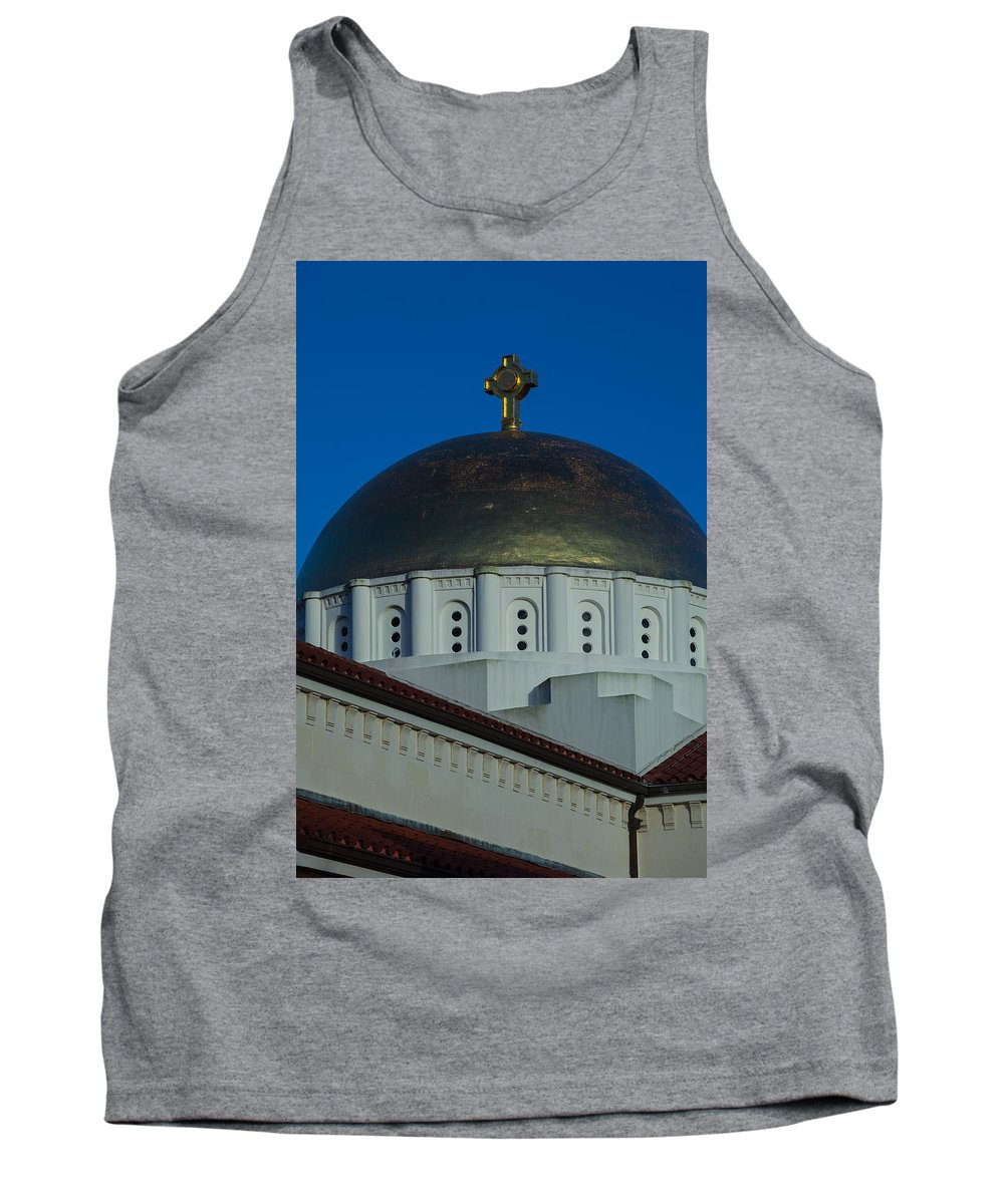 1948 Tank Top featuring the photograph Dome At St Sophia by Ed Gleichman