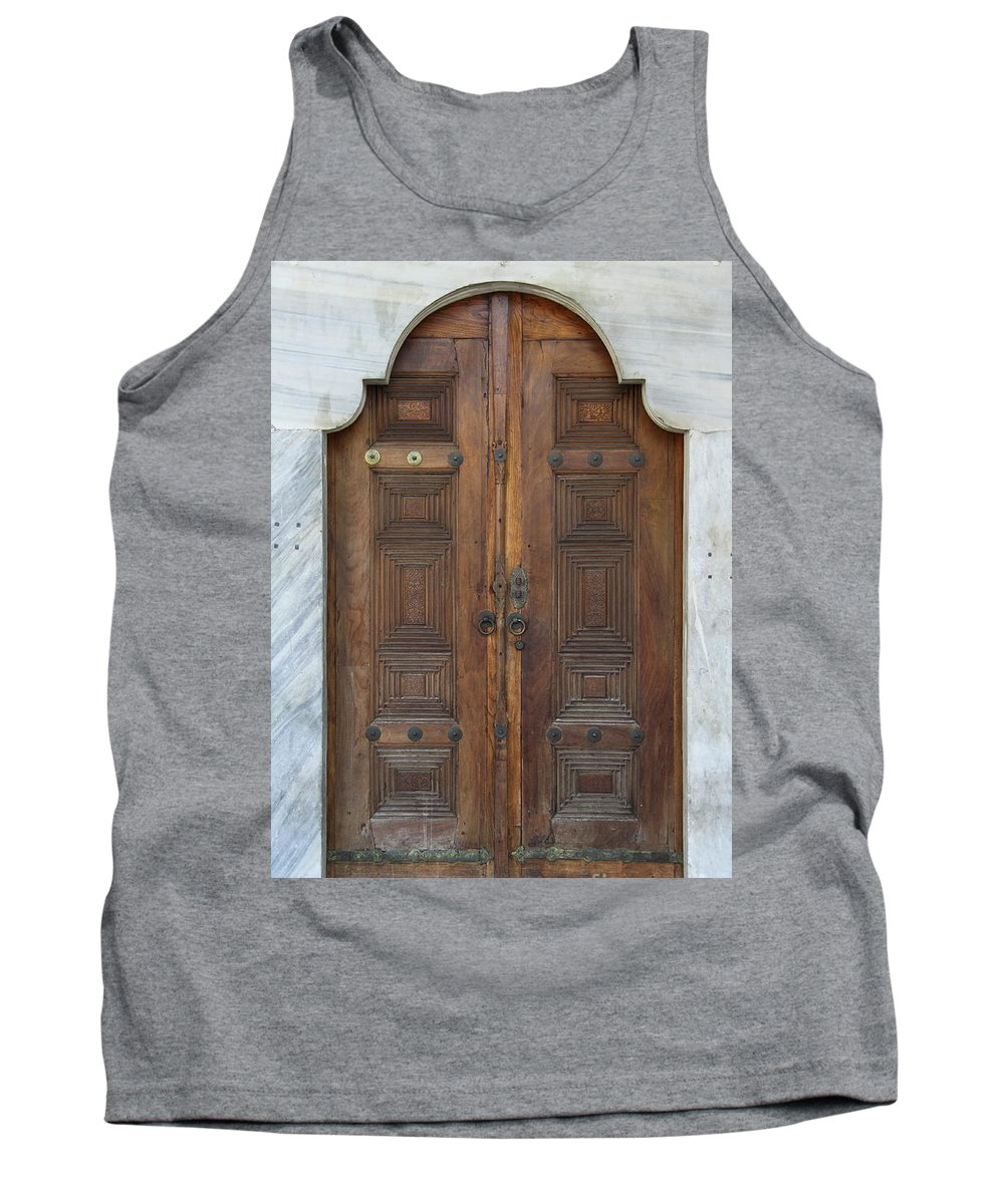 Door Tank Top featuring the photograph Door Of The Topkapi Palace - Istanbul by Christiane Schulze Art And Photography