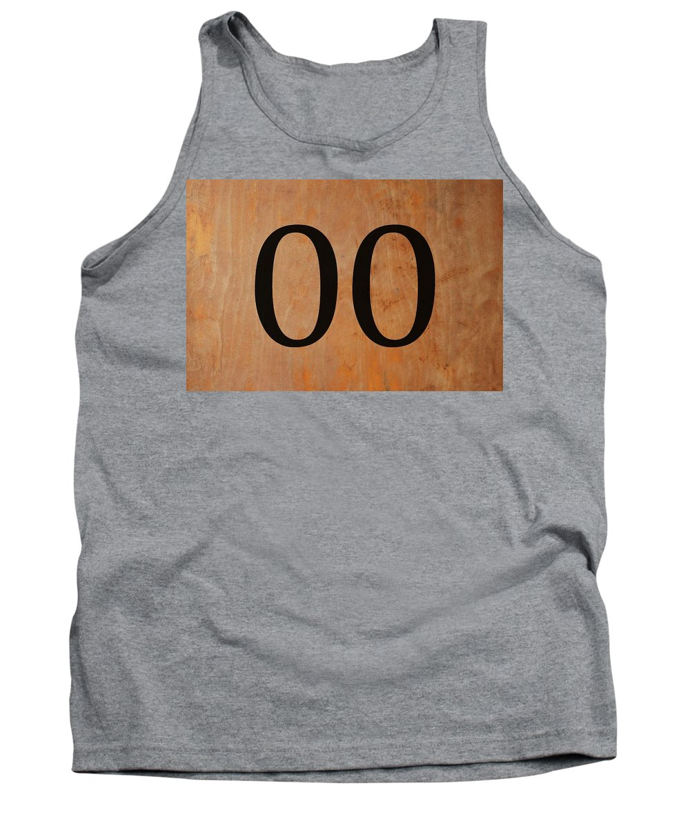 Double 0 Tank Top featuring the digital art Double 0 by Chastity Hoff