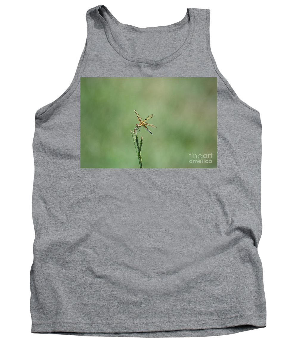 Dragon Tank Top featuring the photograph Dragon Fly 3 by Scott Hervieux