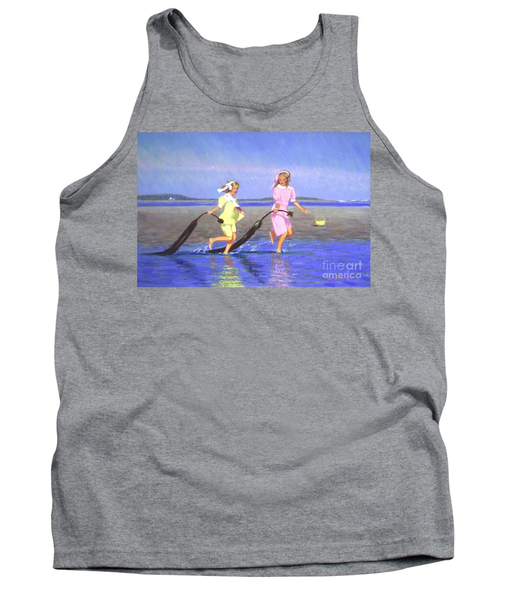 Children Tank Top featuring the painting Dragon Tales by Candace Lovely