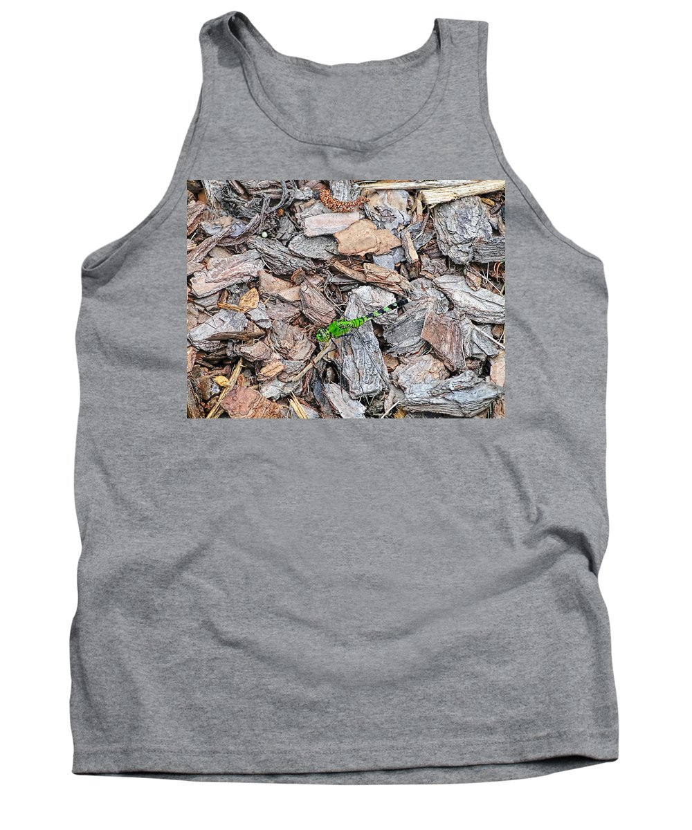 Nature Tank Top featuring the photograph Dragonfly by Alan Hutchins
