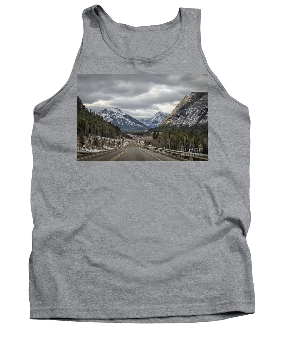 Banff Tank Top featuring the photograph Dream Journey by Evelina Kremsdorf
