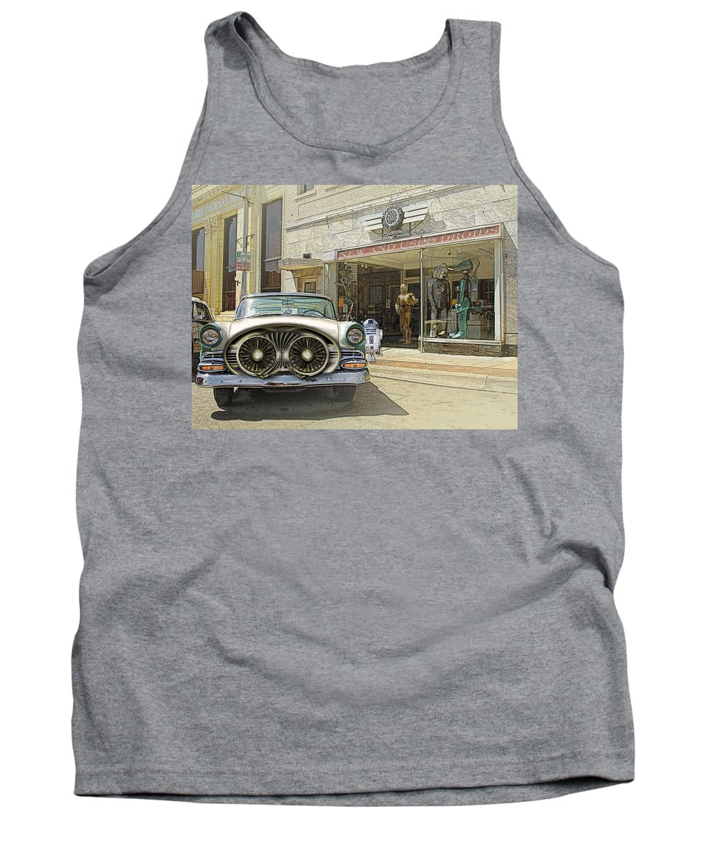 Droids Tank Top featuring the photograph Droids by John Anderson